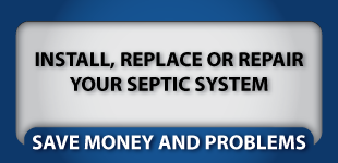 Install, replace or repair your septic system | Save money and problems